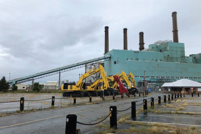 Demolition Underway at Retired Brayton Point Power Station