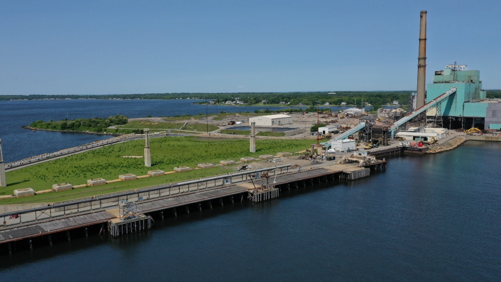 Brayton Point Expanding Port Operations for Offshore Wind