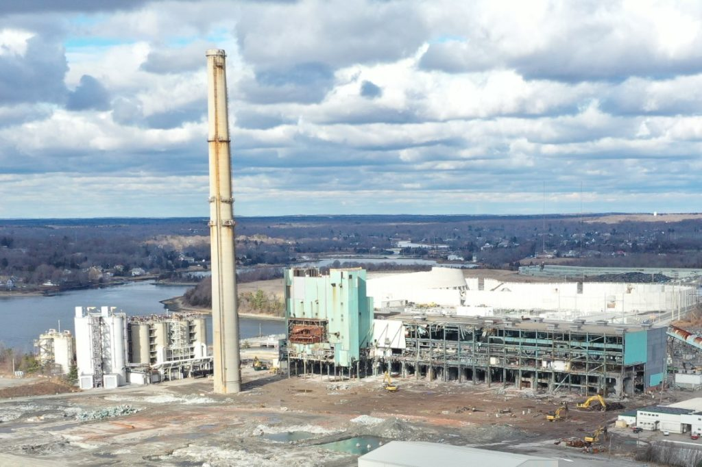 Plans Announced to Implode the Last Remaining Chimney at Brayton Point