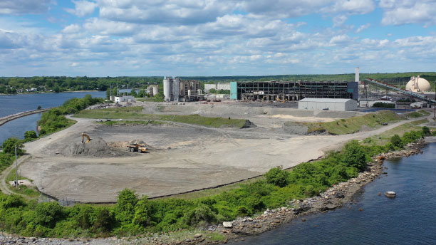 Brayton Point Redevelopment Project Concludes Demolition, Begins Site Grading Plan