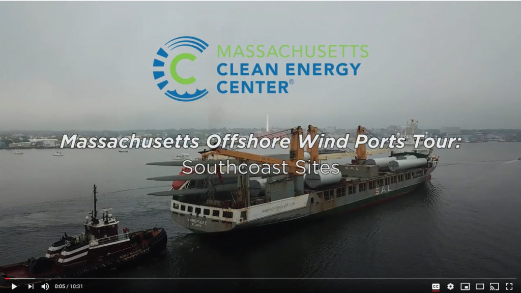 Massachusetts Offshore Wind Ports Tour: South Coast Sites